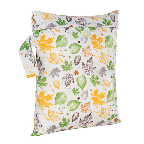 Baba & Boo Leaves Reusable Nappy Storage Bag (Small)
