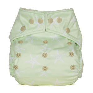 Baba & Boo One Size Nappy - Starfish