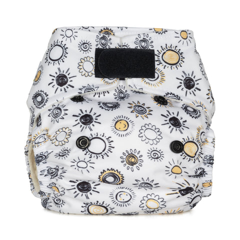 Baba & Boo Newborn Nappy - Sunshine