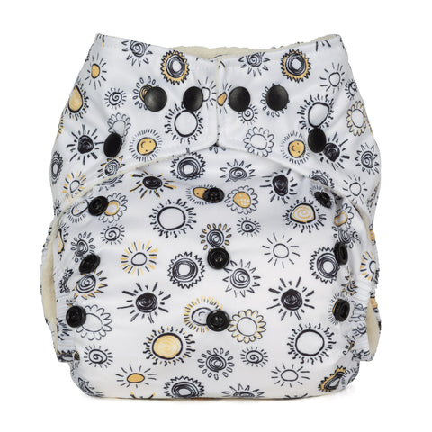 Baba & Boo One Size Nappy - Sunshine