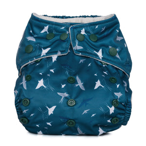 Baba & Boo One Size Nappy - Swallows