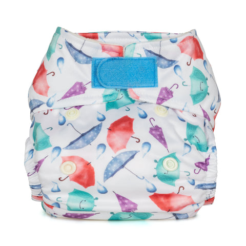 Baba & Boo Newborn Nappy - Umbrella