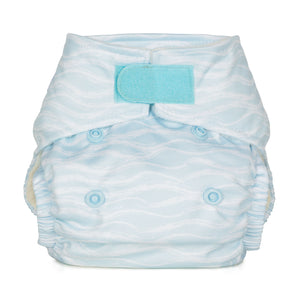 Baba & Boo Newborn Nappy - Waves