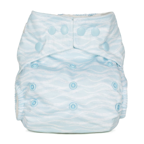 Baba & Boo One Size Nappy - Waves