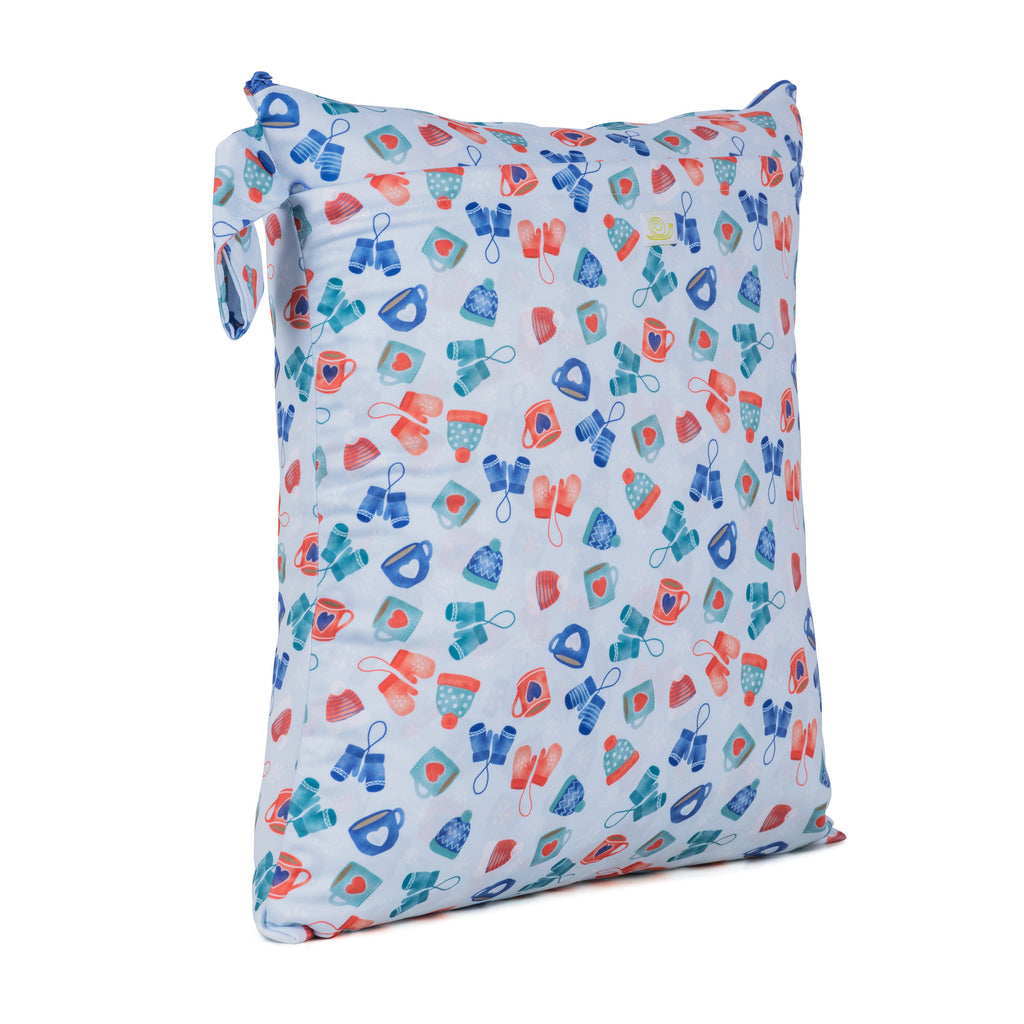 Baba & Boo Wrapped Up Double Zip Reusable Nappy Storage Bag (Medium)