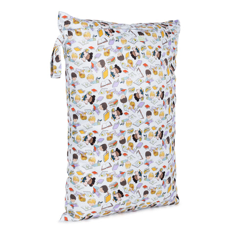 Baba & Boo Bookworm Reusable Nappy Storage Bag (Large)