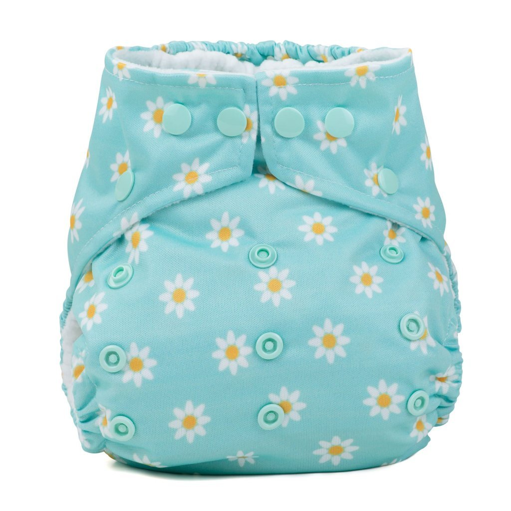Baba & Boo One Size Nappy - Daisy Chain