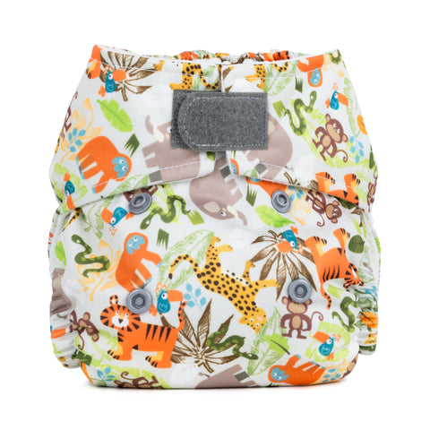 Baba & Boo Newborn Nappy - Jungle Friends - Tilly & Jasper