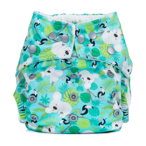 Baba & Boo One Size Nappy - Koalas - Tilly & Jasper