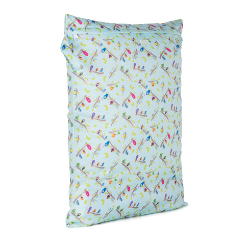 Baba & Boo Dawn Chorus Reusable Nappy Storage Bag (Large) - Tilly & Jasper