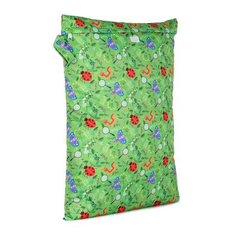 Baba & Boo Nature Detectives Reusable Nappy Storage Bag (Large) - Tilly & Jasper