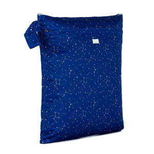 Baba & Boo Constellations Double Zip Reusable Nappy Storage Bag (Medium) - Tilly & Jasper