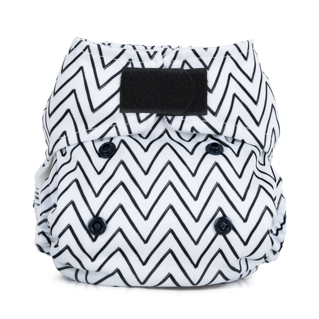 Baba & Boo Newborn Nappy - Mountains