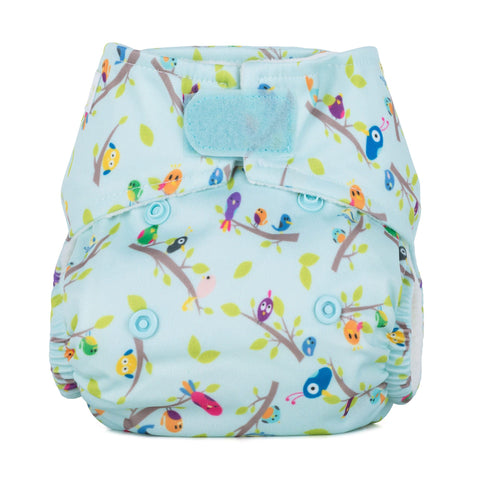 Baba & Boo Newborn Nappy - Dawn Chorus - Tilly & Jasper