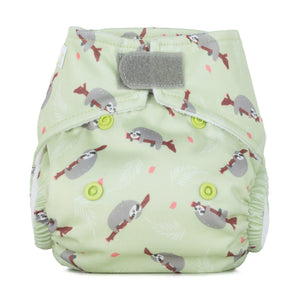 Baba & Boo Newborn Nappy - Sloths - Tilly & Jasper
