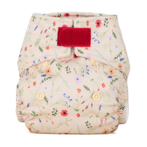 Baba & Boo Newborn Nappy - Wildflowers - Tilly & Jasper