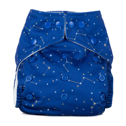 Baba & Boo One Size Nappy - Constellations - Tilly & Jasper