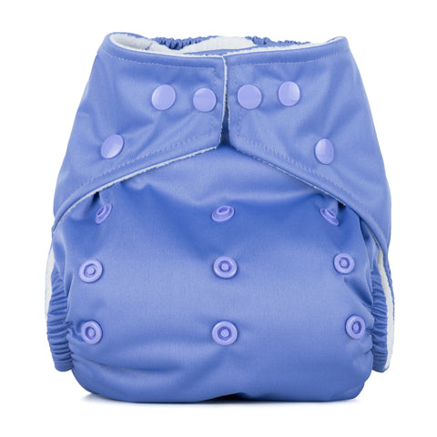 Baba & Boo One Size Nappy - Lavender - Tilly & Jasper
