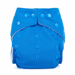Baba & Boo One Size Nappy - Blue