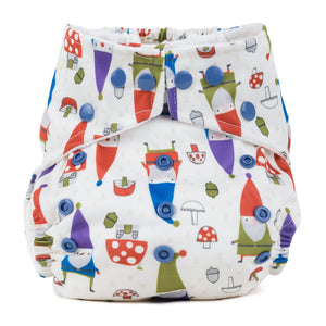 Baba & Boo One Size Nappy - Gnomes