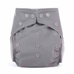 Baba & Boo One Size Nappy - Grey