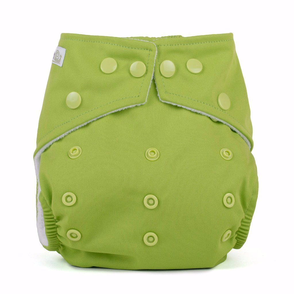 Baba & Boo One Size Nappy - Lime - Tilly & Jasper