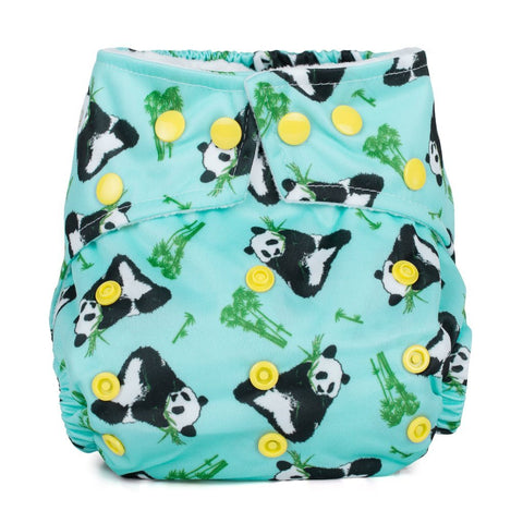 Baba & Boo One Size Nappy - Panda