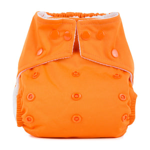Baba & Boo One Size Nappy - Pumpkin - Tilly & Jasper
