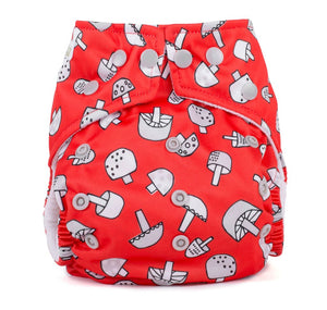 Baba & Boo One Size Nappy - Toadstools