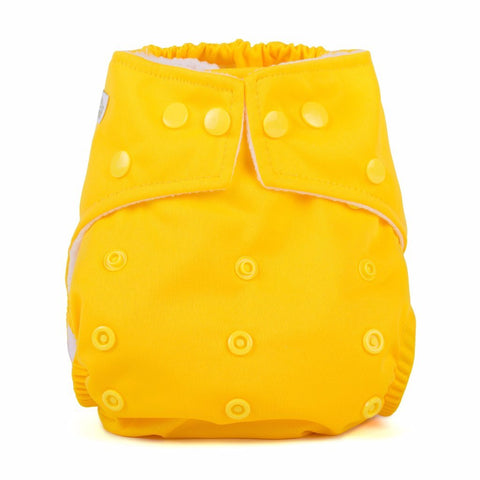 Baba & Boo One Size Nappy - Yellow