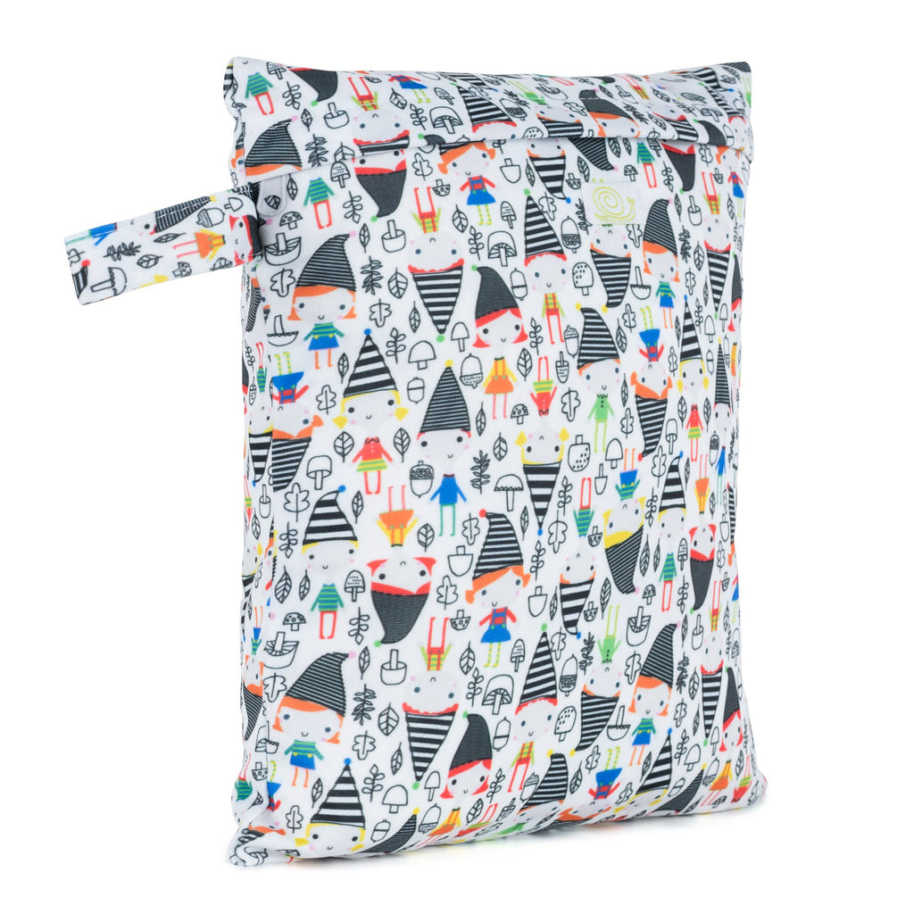 Baba & Boo Elf Town Reusable Nappy Storage Bag (Small) - Tilly & Jasper