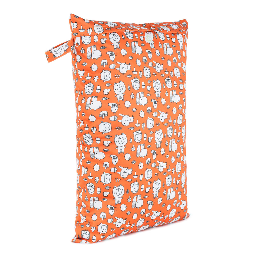 Baba & Boo Forest Foragers Reusable Nappy Bag (Large)