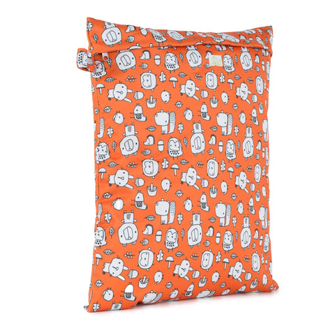 Baba & Boo Forest Foragers Reusable Nappy Storage Bag (Medium) - Tilly & Jasper
