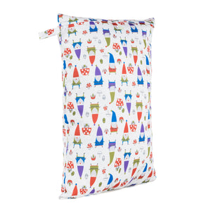 Baba & Boo Gnomes Reusable Nappy Bag (Large) - Tilly & Jasper