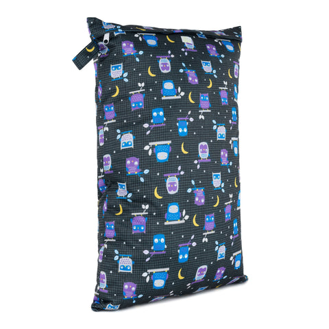 Baba & Boo Night Owls Reusable Nappy Bag (Large) - Tilly & Jasper