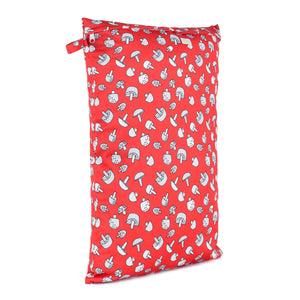 Baba & Boo Toadstools Reusable Nappy Bag (Large) - Tilly & Jasper