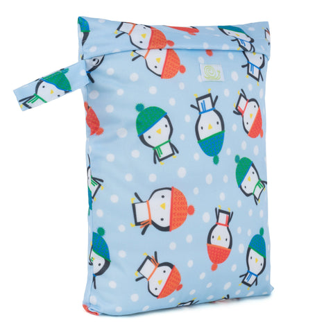 Baba & Boo Penguins Reusable Nappy Storage Bag (Small) - Tilly & Jasper