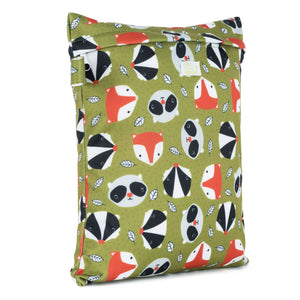 Baba & Boo Fox and Friends Reusable Nappy Storage Bag (Small)