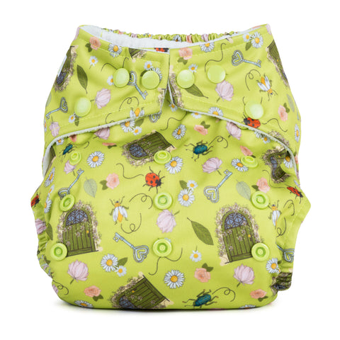 Image of Baba & Boo One Size Nappy - Secret Garden