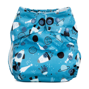 Baba & Boo One Size Nappy - Shoot For The Moon