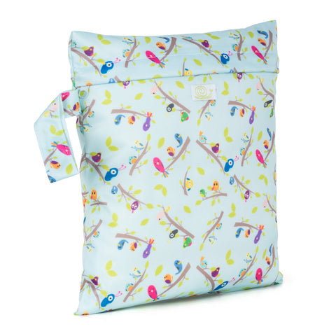 Baba & Boo Dawn Chorus Reusable Nappy Storage Bag (Small) - Tilly & Jasper