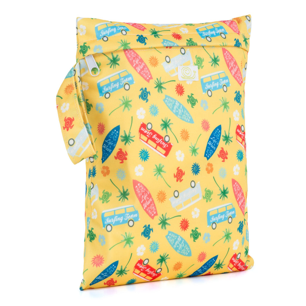 Baba & Boo Surf's Up? Reusable Nappy Storage Bag (Small)