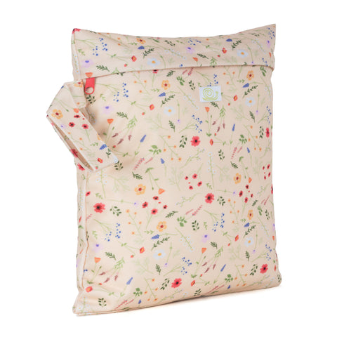 Baba & Boo Wildflowers Reusable Nappy Storage Bag (Small) - Tilly & Jasper