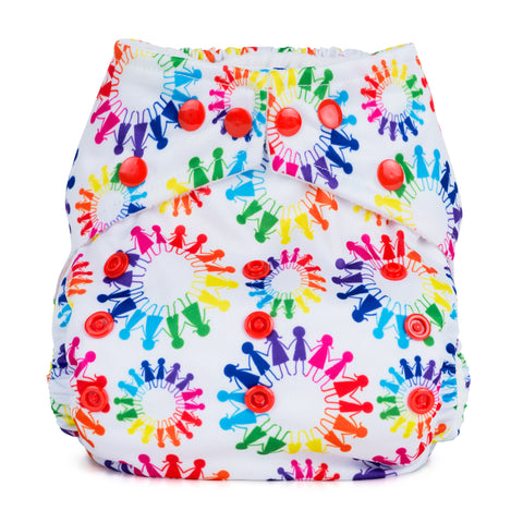 Baba & Boo One Size Nappy - Tribes