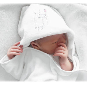 Harry & Rose - Baby Hooded Towel - Tilly & Jasper