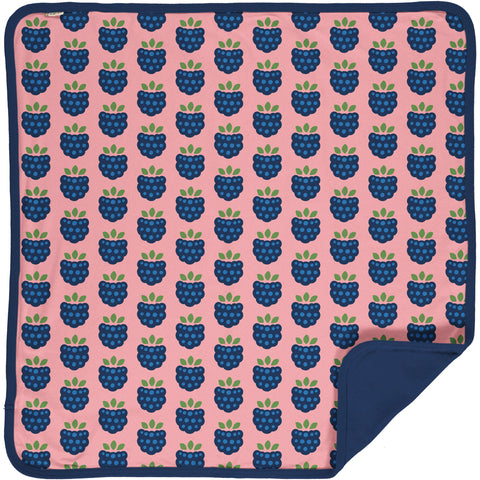 Maxomorra Blanket - Blackberry