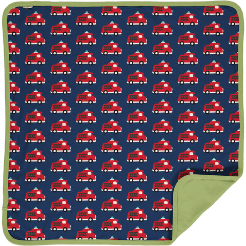 Maxomorra Blanket -Fire Truck