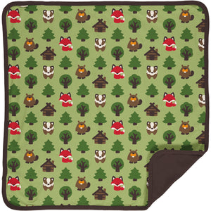 Maxomorra Blanket - Green Forest