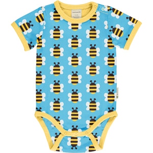 Maxomorra Short Sleeve Body - Humble Bumblebee