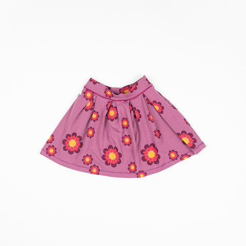 Image of Alba Nelly Skirt - Bordeaux Flower Power